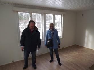 Lyse vegger og nytt gulv