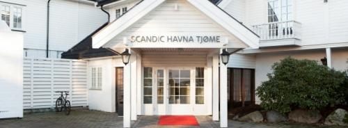 Hotellet har fått nytt navn: Scandic Havna Tjøme. (Foto: Scandic)